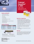 Frekote® Aqualine® C-600™ - Loctite - Page 2