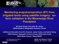 from irrigated lands using satellite imagery - SMAP - NASA
