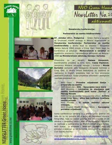 GH Bilten Br 10 - NVO Green Home