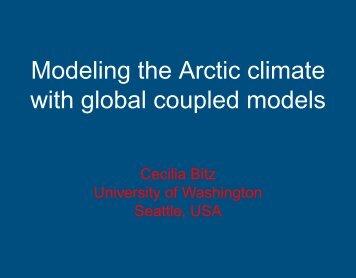 PDF, 6.0 MB - Arctic Climate System Study
