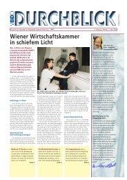 Wiener Wirtschaftskammer in schiefem Licht - Verband für ...