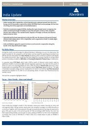 India Update Oct 08 _SIN.indd - Aberdeen Asset Management