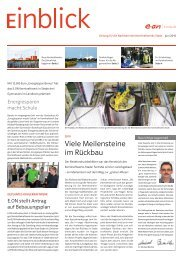 Viele Meilensteine im Rückbau - E.ON Kernkraft GmbH