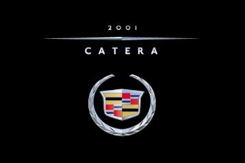 2001 Cadillac Catera Owners Manual - Files