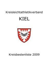 Kreisleichtathletikverband KIEL Kreisbestenliste 2009