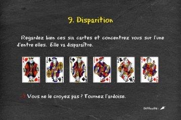 9. Disparition