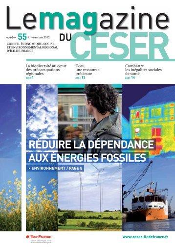 Une Magazine CESR - CESER Ile-de-France