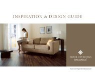 INSPIRATION & DESIGN GUIDE - Floor Coverings International