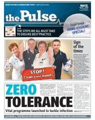 The Pulse May / June 2009 - NHS Lanarkshire