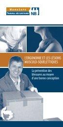 L'ergonomie et les lésions musculo-squelettiques - Travail ...