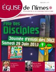 Eglise de Nîmes n° 11 du dimanche 09 juin 2013 - Diocèse de ...