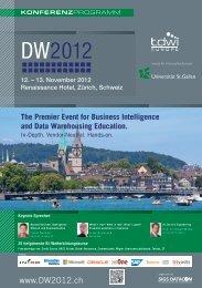 DW2012 - TDWI Germany eV