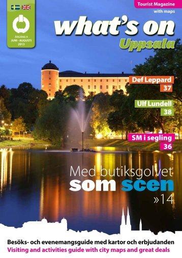 som scen - Destination Uppsala