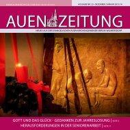 gott uND DAs glück - Auenkirche Berlin-Wilmersdorf
