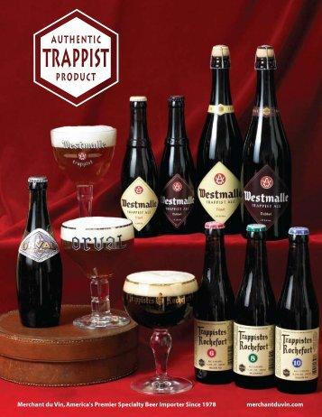 MdV Trappist beers product sheet (388 KB .pdf - Merchant du Vin