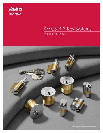 Access 3™ Key Systems - Corbin Russwin