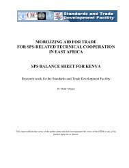 Kenya - Standards and Trade Development Facility