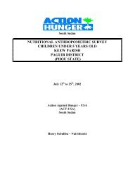 phou state - Action Against Hunger