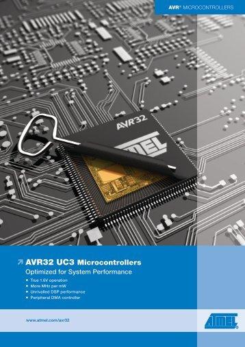 AVR32 UC3 Microcontrollers - EBV Elektronik