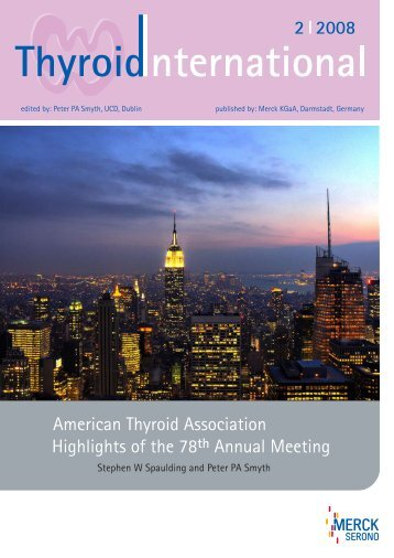 Highlights of the 78th Annual Meeting American Thyroid ... - Thyrolink