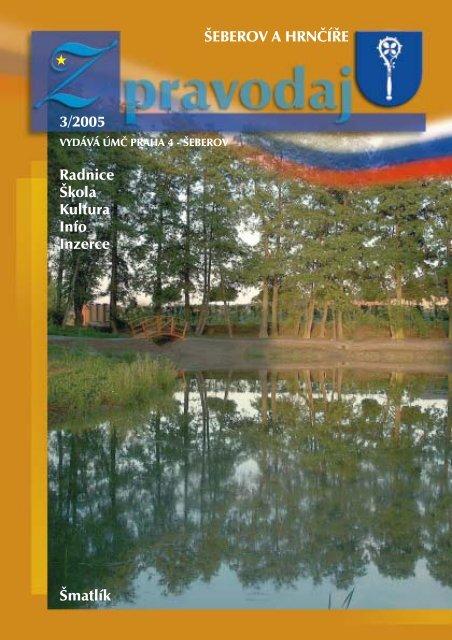 ŠEBEROV A HRNČÍŘE 3/2005 Radnice Škola Kultura Info Inzerce ...