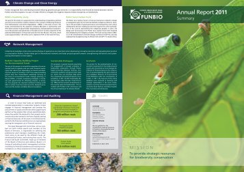 Annual Report 2011 - Environmental Funds Tool Kit