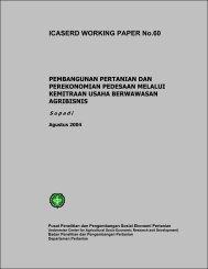 Pembangunan Pertanian dan Perekonomian Pedesaan Melalui ...