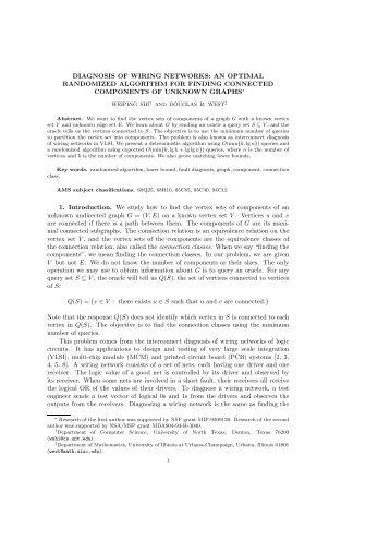 an optimal randomized algorithm - Department of Mathematics