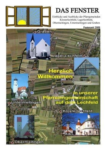 Fastenzeit 2009 - Lechfeld-Pfarreien
