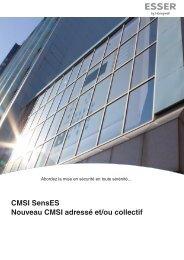 CMSI SensES Nouveau CMSI adressé et/ou collectif - ESSER by ...