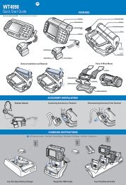 WT4090 Quick Start Guide (p/n 72-86717-02 Rev A)