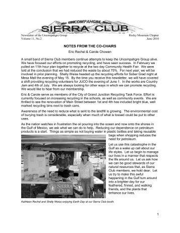 June 2010 - Sierra Club Rocky Mountain Chapter