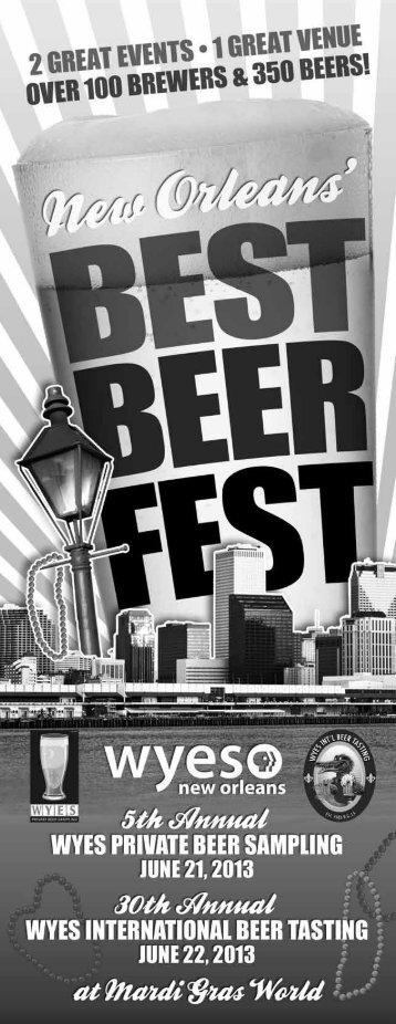 Beer Brochure - WYES