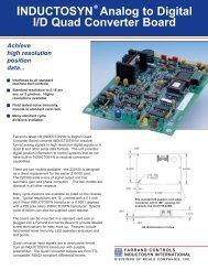 INDUCTOSYN Analog to Digital I/D Quad Converter Board