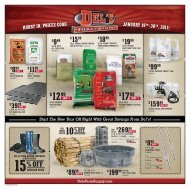 The New Year Off Right With Great Savings From Del's!
