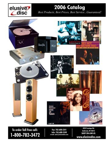 2006 Catalog - Elusive Disc