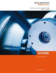 Intorq BFK457 - Chain and Drives Australia