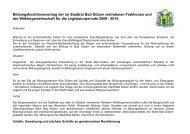 Bildungskoalitionsvertrag der im Stadtrat Bad Düben vertretenen ...
