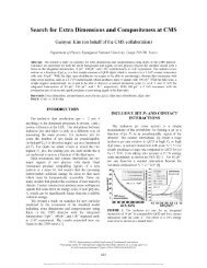 Search for Extra Dimensions and Compositeness at CMS