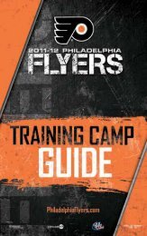 2011 Training Camp Guide - Philadelphia Flyers