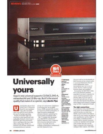 Hi-Fi Choice review (July2011) - Audio Tweak