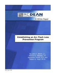 Establishing an Arc Flash Loss Prevention Program - PowerHawke
