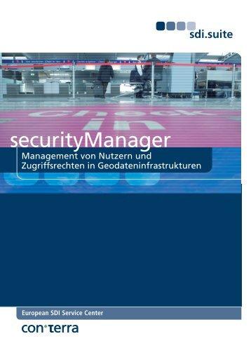 securityManager - con terra GmbH