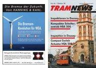 Die Bremsen- Revolution für WEA. - Hanning & Kahl