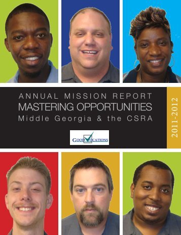 2011-2012 Good Vocations Annual Report