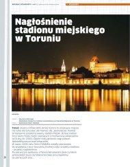 Nagłośnienie stadionu miejskiego w Toruniu