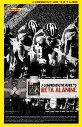 A comprehensive guide to betA AlAnine - PowerBar.Com