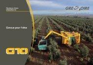 Conçue pour l'olive - Gregoire Group : Grégoire (machine à ...