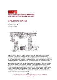 Gipsloftets historie - Center for Bygningsbevaring