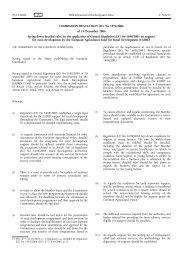 COMMISSION REGULATION (EC) No 1974/2006 of 15 December ...